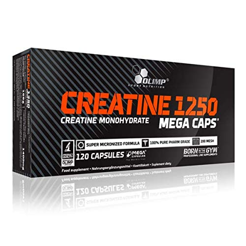 OLIMP SPORT NUTRITION Créatine 1250 Mega 120 Capsules