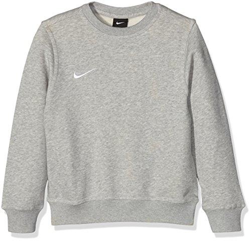 Nike Pull à Manches Longues pour Enfant Mixte, Gris (Gris Heather/Blanc), L (12-13 Ans)