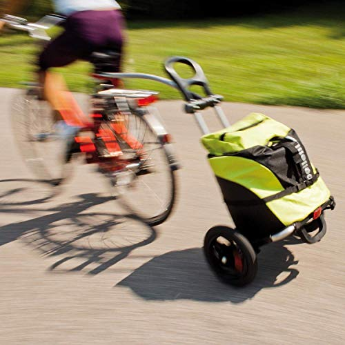 Bellelli B-tourist chariot de course à roulettes pour porte-vÃlos charge max. 25 kg marone