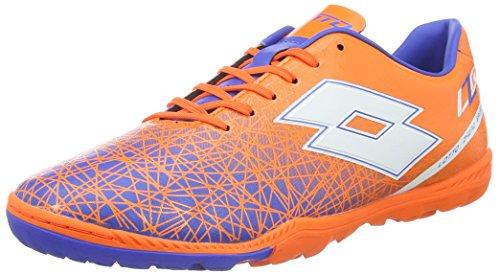 Lotto Sport S3962 Chaussures de Football Homme, Multicolore - Naranja/Blanco (Fant FL/WHT) 41 EU