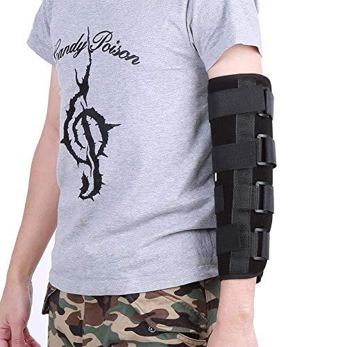 Filfeel Appui-coude, Respirant Style Hiver, attelle de Bras, stabilisateur de Fracture, soulagement des douleurs articulaires, Protecteur Nocturne de récupération après Une blessure(M)