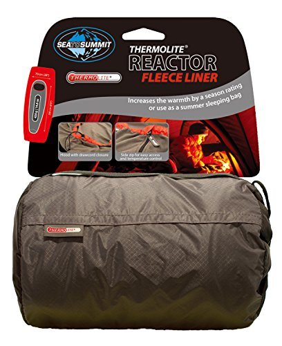Sea to Summit – Reactor Fleece Liner Thermolite Hood, Couleur Grey