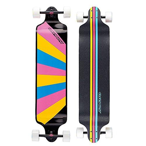 Osprey Rainbow Longboard Mixte Adulte, Multicolore, 41.25-inch