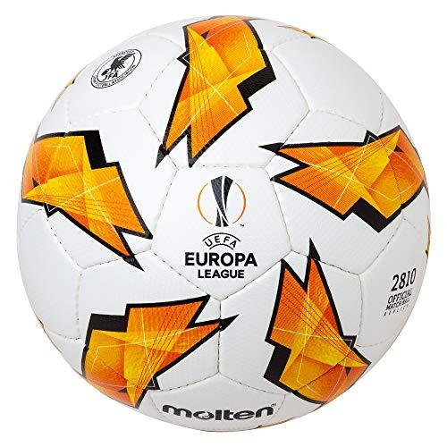Molten Réplique du UEFA Europa League-2810Modèle Ballon de Match Officiel Size 5 Orange