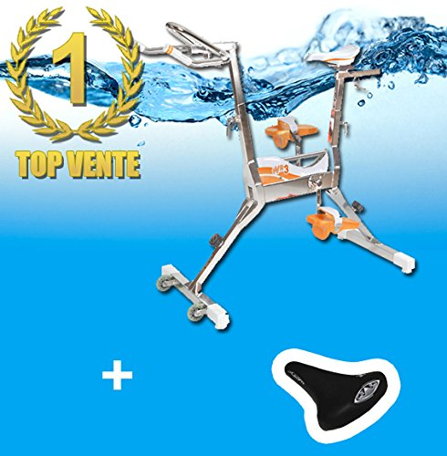 WR3+Selle Le Top! velo piscine waterflex