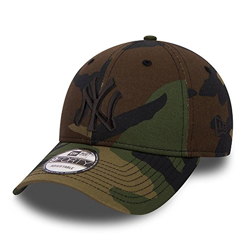New Era - Casquette NY Yankees Camouflage 9FORTY - Couleur: Vert - Taille: Unique