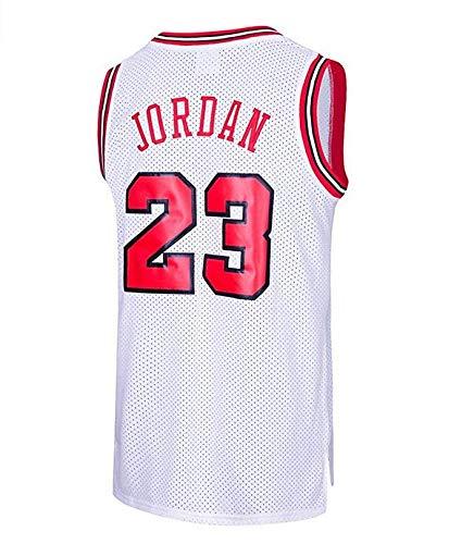 MTBD Michael Jordan, NO.23 Retro Bulls, Jersey de Basket, Broderies Respirantes et Résistantes à l'usure, T-Shirt pour Hommes et Fans