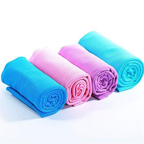 Serviette Séchage Rapide Serviettes en microfibre pour les sports, les voyages, la natation, la randonnée et le camping, 4 serviettes, serviettes ultra-légères et à séchage rapide. pour le bain, la pl