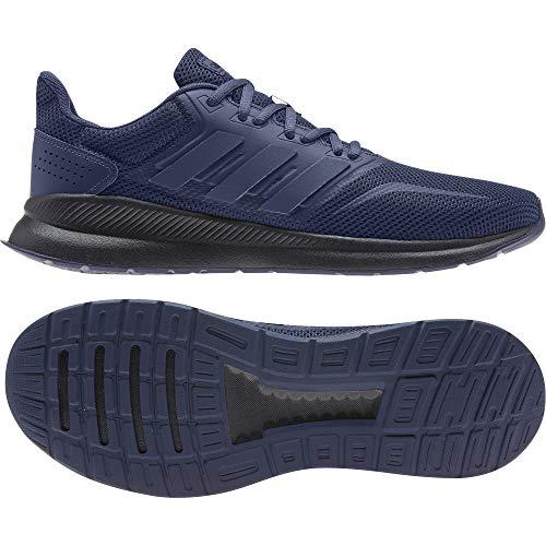 adidas Runfalcon, Chaussure de Course Homme, Tech Indigo/Tech Indigo/Legend Ink, 48 EU