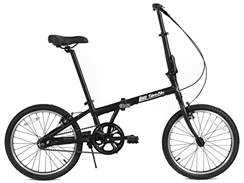 FabricBike Folding Vélo pour Hommes, Noir Mat, Unique