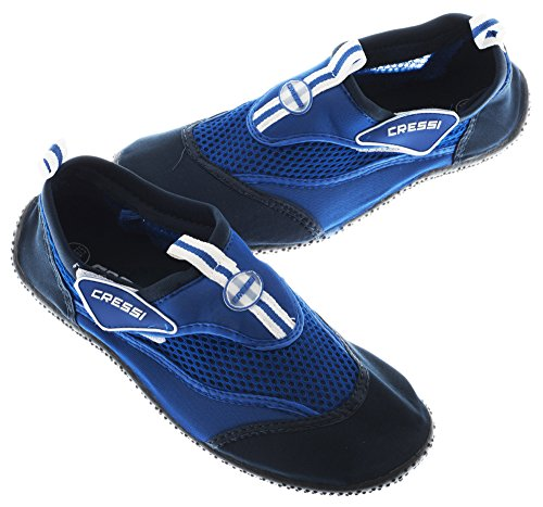 Cressi - Reef - Chaussures de Plage - Mixte Adulte - Bleu (Azur) - Taille: 38