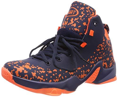 ASHION Chaussures de Sport-Basketball Homme(Rouge EU42)