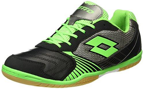 Lotto Sport S3982, Chaussures de Football Homme, Noir (Blk/Mint FL), 44 EU