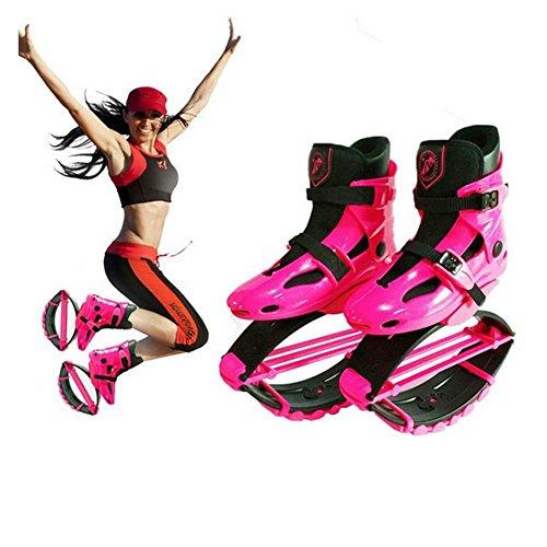OOFAY TAPS Kangoo Jumps Les Filles Mettent en Forme des Chaussures De Gravité Bottes De Rebond d'enfants Bounce La Chaîne De Charge De Poids 50-70KG