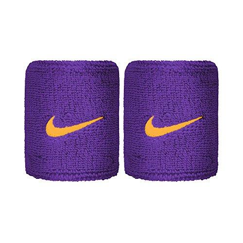 Nike Swoosh Adulte Bandeau éponge, Field Purple/Amarillo, One Size