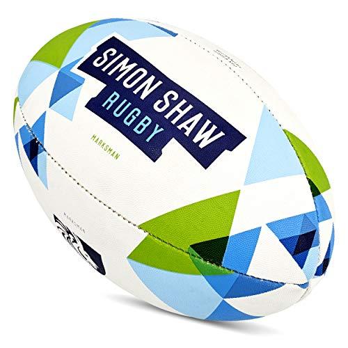 Simon Shaw Ballon de Rugby Marksman Taille 4
