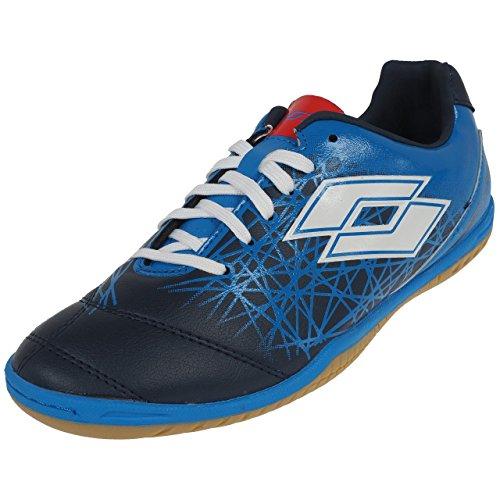 Lotto - Lzg 700 Futsal - Chaussures Football en Salle Indoor - Bleu Moyen - Taille 43.5