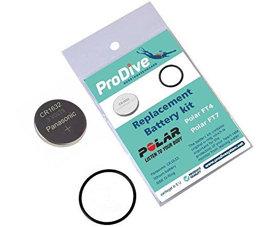 ProDive Polar FT4FT7moniteur de fréquence cardiaque montre de sport kit batterie