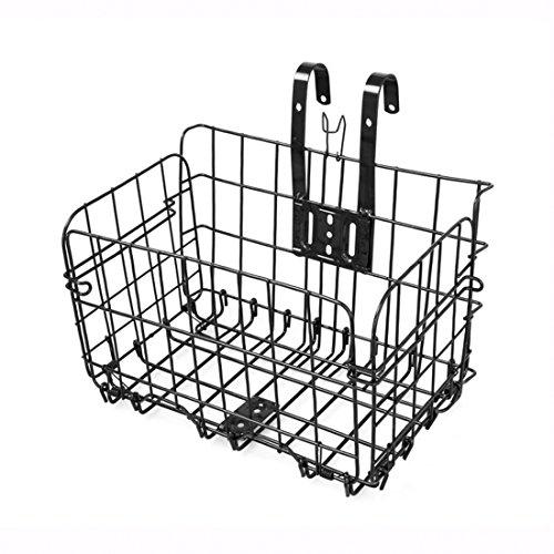 YUKIKO Panier de vélo Pliable pour Porte-Bagages Avant ou vélo