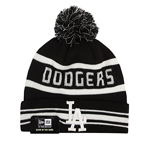 NEW ERA Bonnet bonnet D' HIVER Casquette Unisexe Oakland Raiders Yankees de New York Batman Superman Marvel etc. - Los Angeles Dodgers #Z30, one size