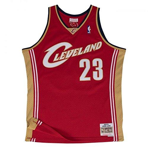 Mitchell & Ness Cleveland Cavaliers Lebron James débardeur red