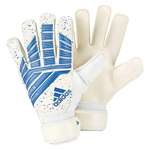 adidas PRED TRN Gants de Foot Mixte Adulte, Football Blue/White, FR : XS (Taille Fabricant : 5)