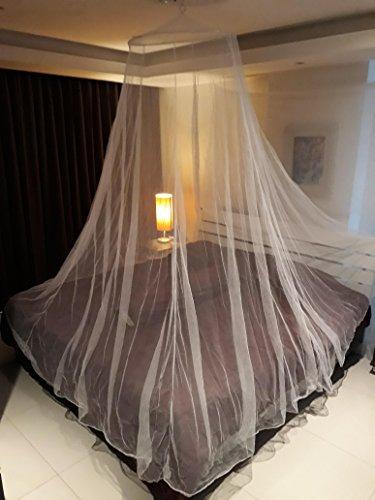 Moustiquaire XXL de Campito pour lits simples et doubles, idéale se protéger contre les insectes (baldaquin)
