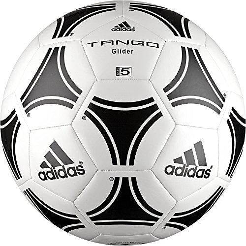 adidas Tango Glider Ballon de Football Mixte Adulte, Blanc/Noir, Taille 5