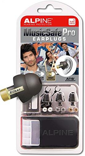 Alpine MusicSafe Pro Bouchons d'oreilles avec filtres Noir