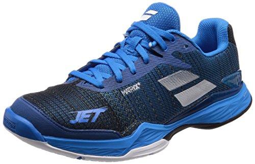 Babolat Chaussures de Tennis Jet Mach II pour Hommes, Bleu, 43