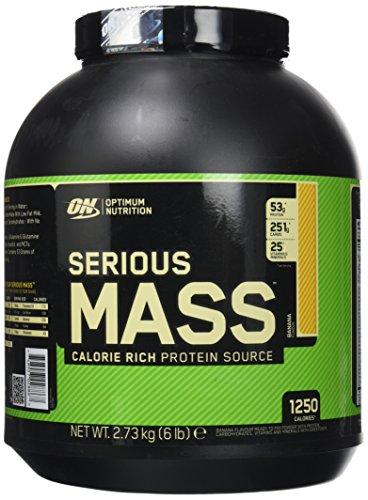 OPTIMUM NUTRITION Serious Mass Protéine Banane 2.72 kg
