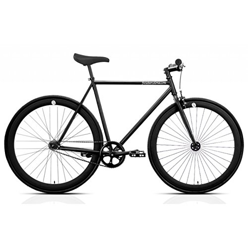 Vélo FB FIX2 Total Black. Vitesse unique. Taille 53