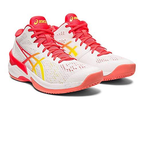 ASICS 1052A023-100_37,5 Chaussures de Volley-Ball pour Femme Blanc