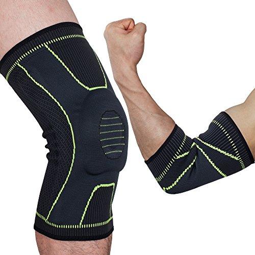 Genouillère pour courir, basket-ball, anti-douleur soulagement du ménisque, soulagement des douleurs articulaires, emballage unique