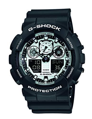 Montre Homme Casio G-Shock GA-100BW-1AER