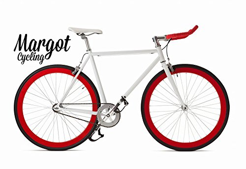 Margot Bullhorn Single Speed, Fixie, vélo Fixed, Urban Bike, Homme, 54