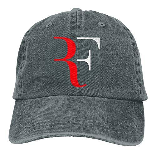 WoodWorths RF Logo Casquette de Baseball Ajustable Roger Federer pour Hommes, Sport féminin