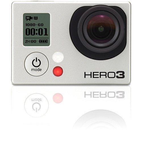 Gopro HERO 3 Silver Edition Caméra HD 11 Mpix Wi-Fi intégré( langue: anglais / espagnol)