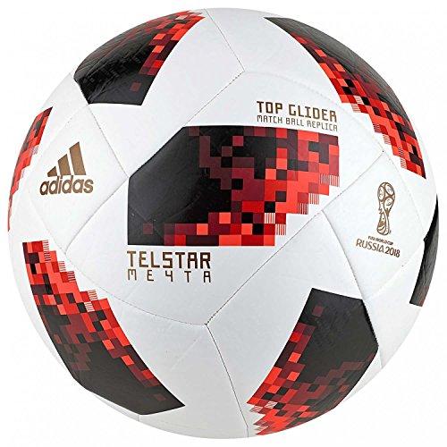 adidas w Ballon Cup KO tglid, Unisexe–Adulte, Blanc/Solred/Noir, 5