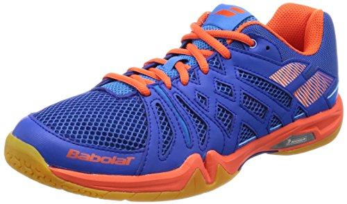 Babolat Chaussures de Badminton Shadow Team Homme 30s1805 298 bleu/orange-44
