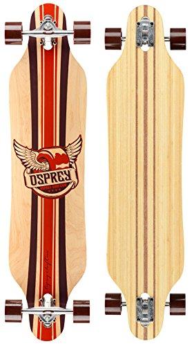 Osprey Phoenix Twin Tip Skateboard Mixte_Adulte, Rouge, 104 cm