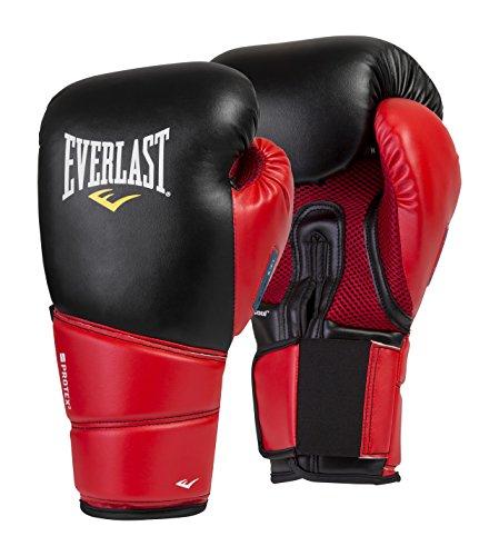 Everlast Protex 2Gants d'entraînement Evergel pour Homme, Noir/Rouge, L/XL