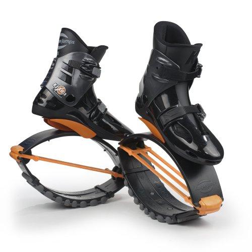 Kangoo Jumps XR 3 Chaussures à rebonds pour Femme M Multicolore - Noir/Orange