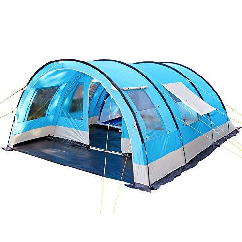 Skandika Helsinki Tente de camping Bleu 525 x 410 cm