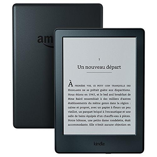 Kindle, écran tactile 6' (15,2 cm), sans éclairage intégré, Wi-Fi (Noir) - Avec Offres spéciales