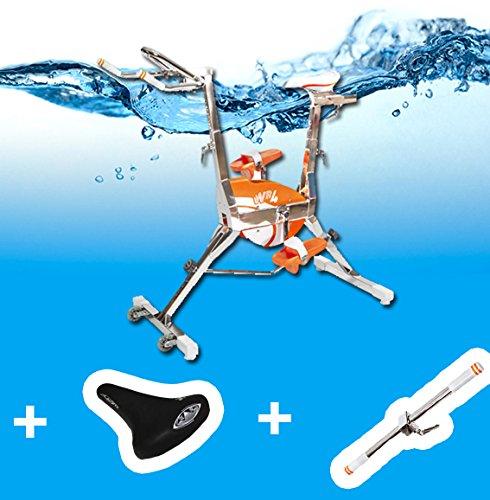 Velo piscine WR4 +selle confort + barre Multitraining