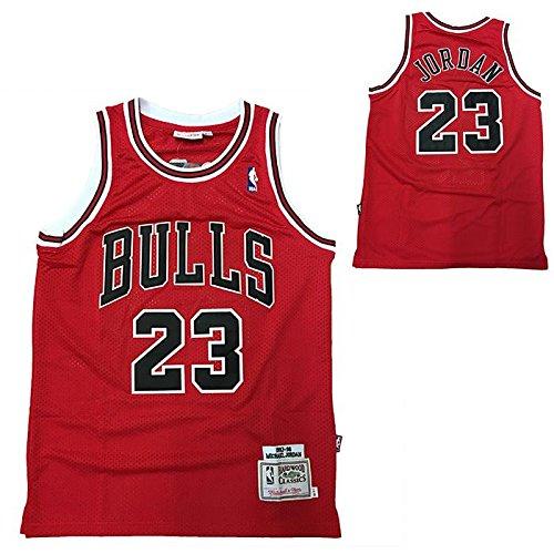 NBA Débardeur rétro Vintage - Michael Jordan - Chicago Bulls - Taille M