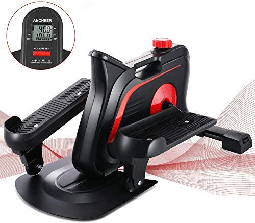 Profun Stepper Hometrainer 10 Nivieaux de Résistances Réglables/Stepper d'appartement Portable/Vélo elliptique/Appareil d'Entraînement pour Les Mouvements au Bureau/à la Maison, avec écran LCD
