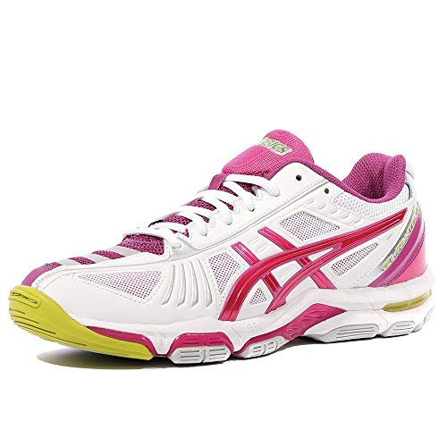 Asics Gel Volley Elite 2 Femme Chaussures Volley-Ball Blanc