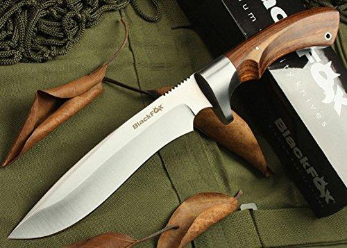 REGULUS KNIFE Couteau de Chasse en Plein air Noir